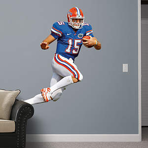 Tim Tebow Florida - Blue Fathead Wall Decal